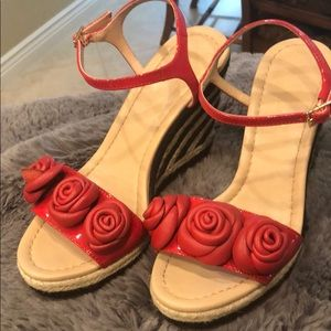 Kate Spade espadrille strappy sandals. Size 6